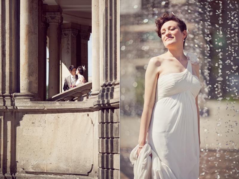Hochzeitsfotos im Zwinger Dresden