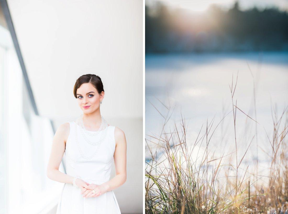 Hochzeitsfotos Winter